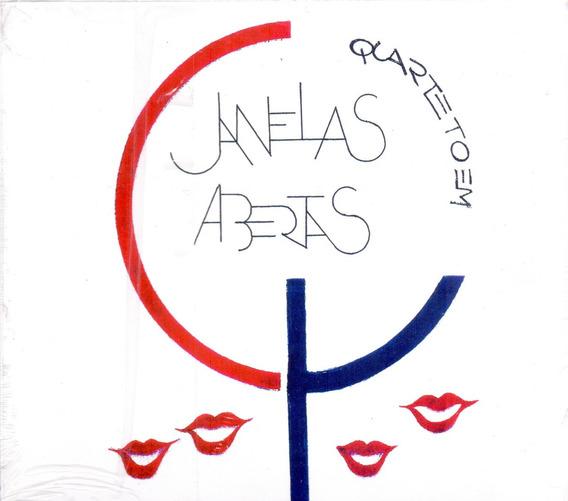 Cd Quarteto Em Cy - Janelas Abertas - Promoção Apenas 1 Un.