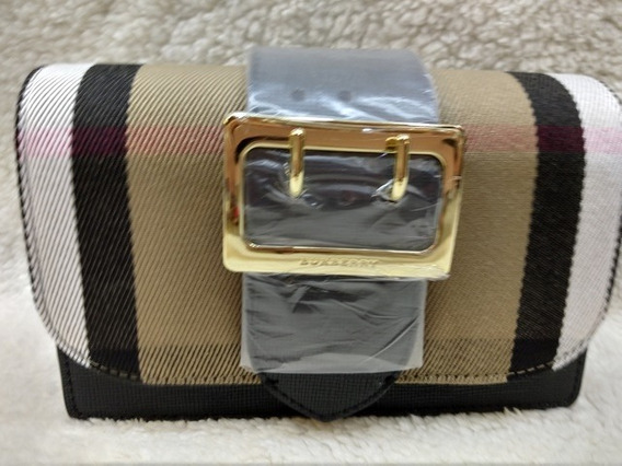 Bolsa Burberry Madison Preto