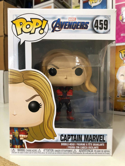 Funko Pop Marvel Avengers Endgame Captain Marvel