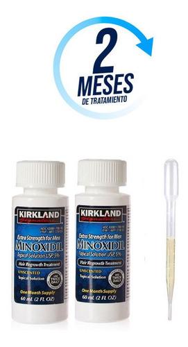 Minoxidil Kirkland 5% Solución Tópica 2 Meses De Tratamiento