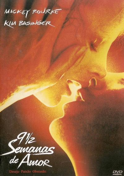 Dvd 9 1/2 Semanas De Amor - Semi Novo***