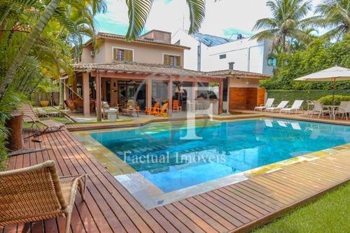 Casa Para Venda E Locação Diária -no Condomínio Jardim Acapulco - Guarujá/sp - Ca0661