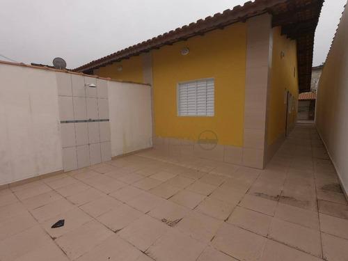 Casa Com 2 Dormitórios À Venda, 70 M² Por R$ 198.000,00 - Agenor De Campos - Mongaguá/sp - Ca5002