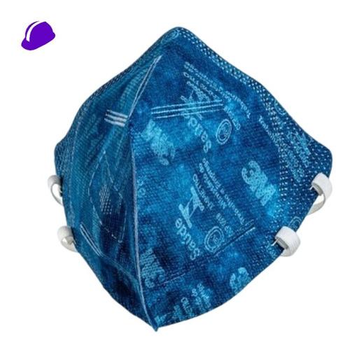 50 Máscara Respirador 3m N95 Pff2 9820 Dobravel Nota Fisca