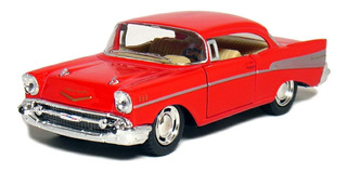 5 & ¿¿quot; 1957 Chevy Bel Air Coupe 1:40 Escala (rojo)