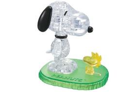 3d Crystal Puzzle Snoopy Y Woodstock