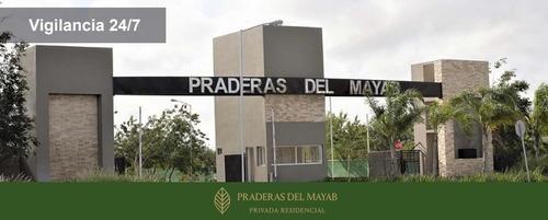Lote Residencial Al Norte De Mérida, Praderas Del Mayab