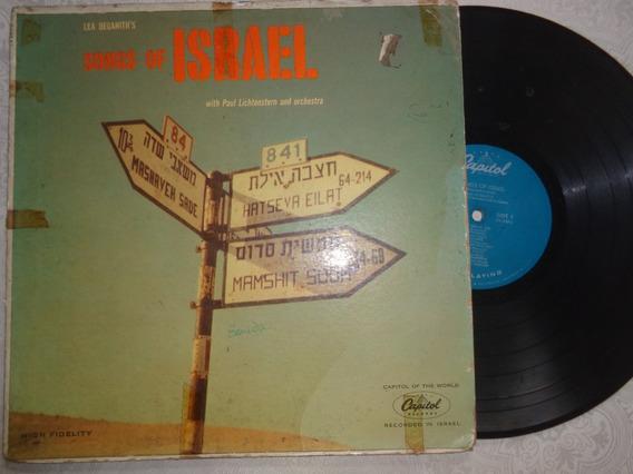 Lp Songs Of Israel, Lea Deganith, 1957- Eua