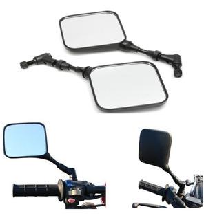 Par 10mm Espelhos Laterais Da Motocicleta Para Suzuki Dr 200