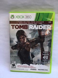 Juego Xbox 360: Tomb Raider