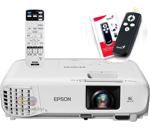 Epson Proyector Tecnología 3 Lcd Zoom 1.35x Gratis Apuntador