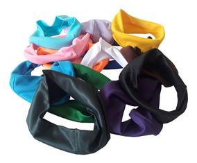 12 Faixas Para Cabelo Cores Variadas Headband Atacado