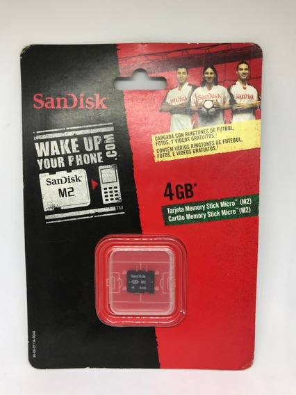 Cartão Memória Micro M2 4gb Sandisk