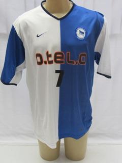 Camisa Futebol Do Hertha Berlim Da Alemanha #7 Alex Alves N