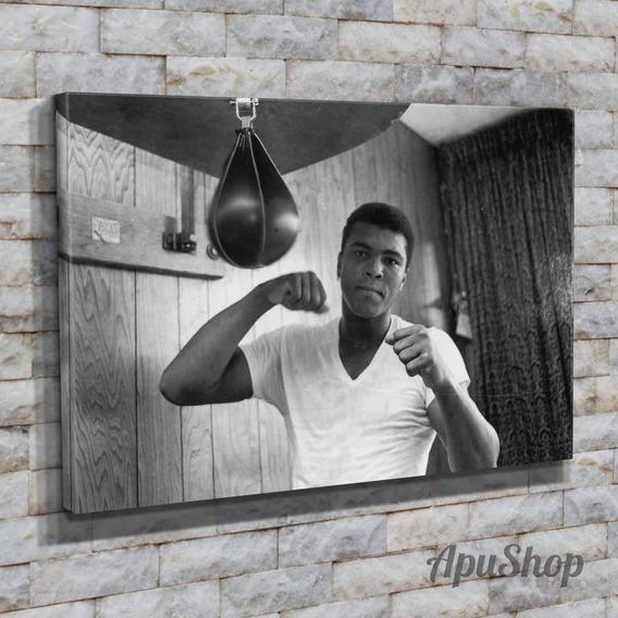 Cuadros 90x60 Muhammad Ali Carlos Monzón Boxeo Deportes