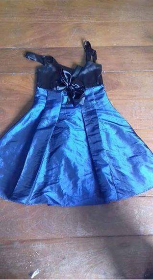 Vestido Tafetá