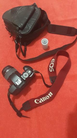 Câmera Analógica Canon Eos 5000 Com Bolsa.