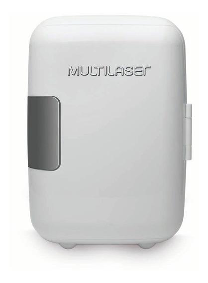 Mini Geladeira Multilaser 4l 12v 110v Branca Tv009