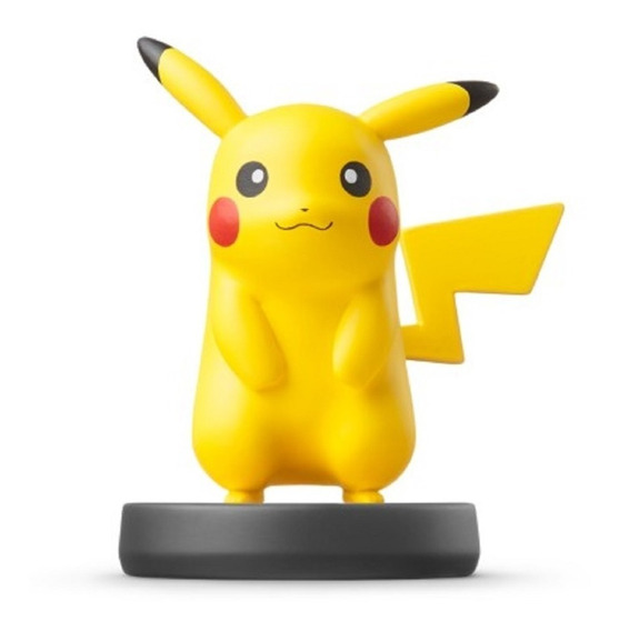 Amiibo Pikachu - Smash Bros - Pronta Entrega