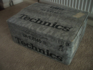 Sintoamplificador Technics Sa Ex140