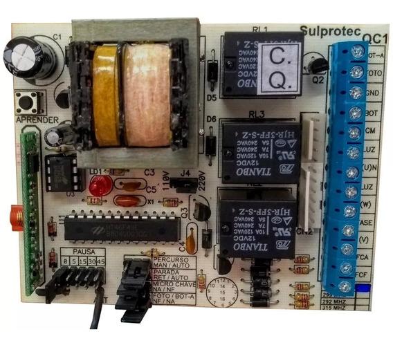 Central Sulprotec Qc1 - Portão Eletrônico 433mhz