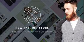 Prestashop - Tema Pts New Fashion Responsivo Loja De Roupas