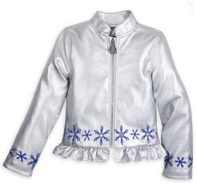 5f1189e7b Disney Store! Frozen Casaca Talla 7/8 Original