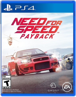 Need For Speed Payback / Juego Físico / Ps4