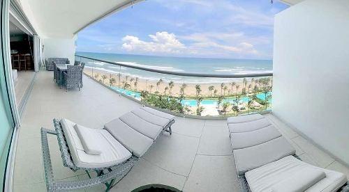 Cad Península Tower C9 De Playa, Vista Al Mar, Escriturado