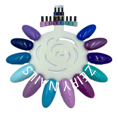 Imagen 1 de 3 de Gel Miss Cherry Gama D Gelish Semipermanente 12 Colores 10ml