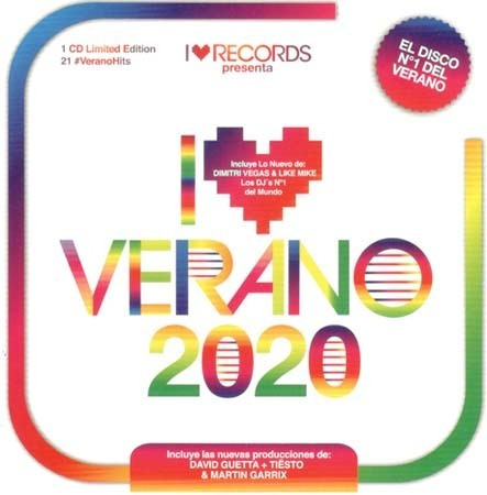 Cd - I Love Verano 2020 - Varios Interpretes