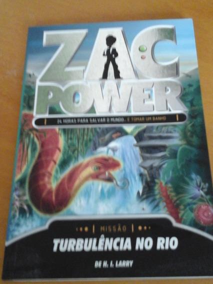 Livro Infanto Juvenil - Zac Power - Turbulência No Rio