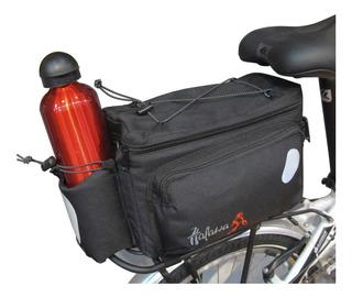 Bolso Bicicleta Portaequipaje Trasero Halawa + Correa