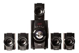 Home Theater 5.1 40w Bluetooth Usb Fm Control Led Niza Noga