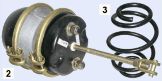 Resorte Pulmon Spring Brake 30-30 Acoplado-semi