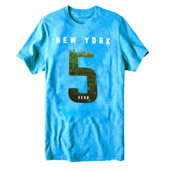 Camiseta Aeroposte Aero New York Graphic Tee Original