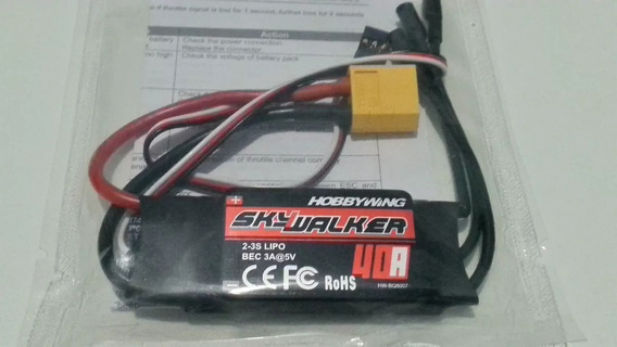 Esc 40a Skywalker Hobbywing Ubec 3a 3.5mm