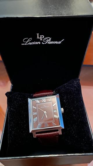 Reloj Lucien Piccard Bianco Cafe Cuadrado