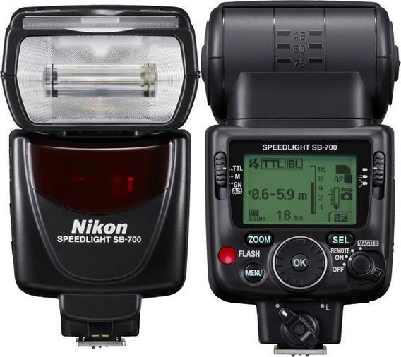 Flash Nikon Sb-700 Sb700 Produto 100% Original Pron.entrega!