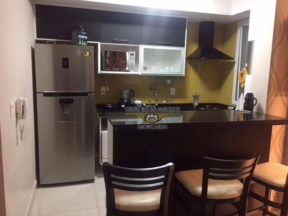 Apartamento Com 1 Dormitório À Venda, 50 M² Por R$ 530.000,00 - Tatuapé - São Paulo/sp - Ap2306