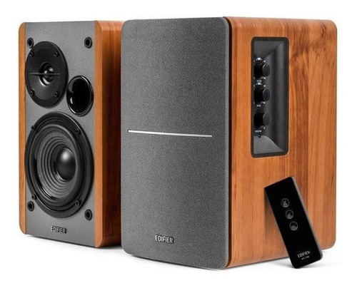 Parlante Edifier R1280DB con bluetooth brown