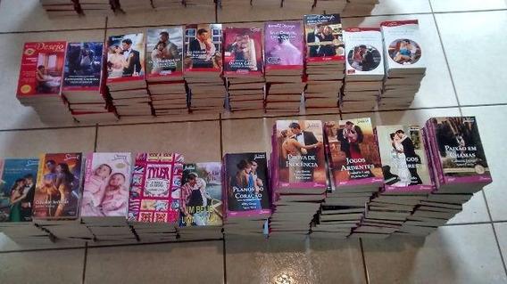 Lote Com 100 Livros De Romances Julia Sabrina Bianca Paixao