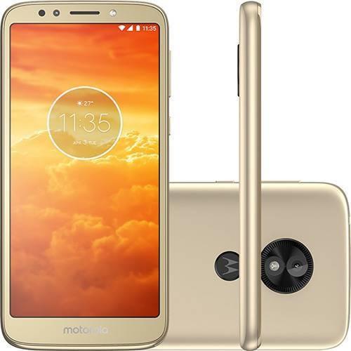 Smartphone Motorola Moto E5 Play 16gb Dual Chip Android Ouro