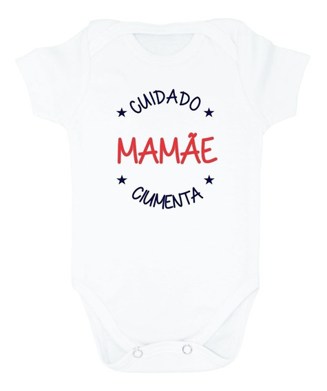 Body Bebe Dia Das Mães Cuidado Mamãe Ciumenta Bodie Baby Mãe