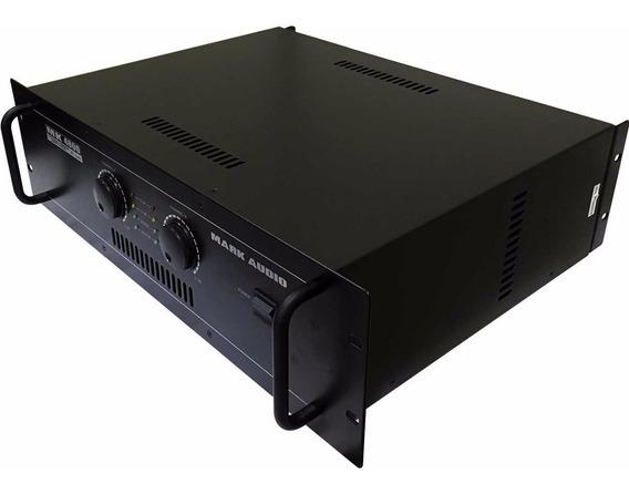 Amplificador Profissional Mark Audio By Attack Mk 4800 800w