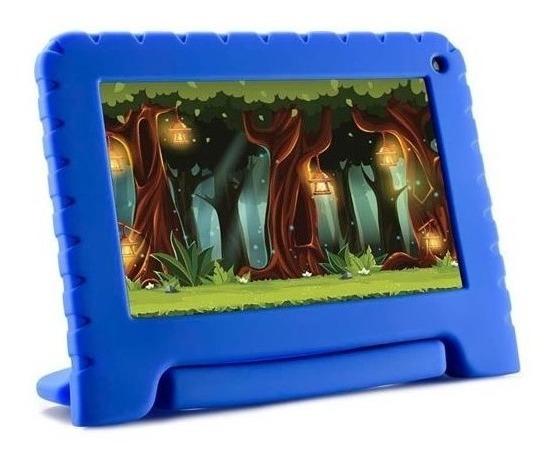 Tablet 16gb Infantil Kid Pad Android 8 Capa Emborrachada