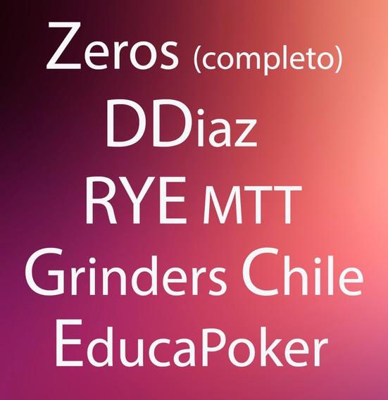 Curso Zeros,rye(sub),diaz,grinderschile, Muchos+