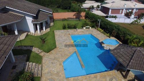 Casa Com 4 Dormitórios À Venda, 440 M² Por R$ 1.690.000,00 - Condomínio Village Castelo - Itu/sp - Ca1287