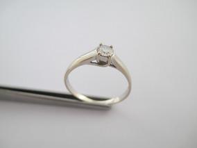 Majestoso Solitário Com Diamante 40 Pts - Ouro 18k - Aro 25