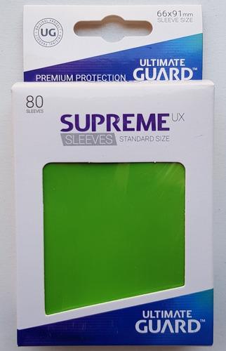 Ultimate Guard Supreme Ux Micas Standard Size Verde Claro